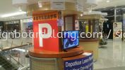 Shopping Mall Booth Signage