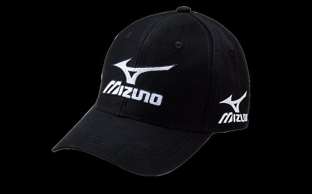 Mizuno Black Tour Cap