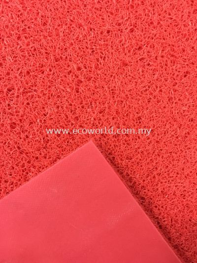 PVC Normal Duty Coil Mat -Red