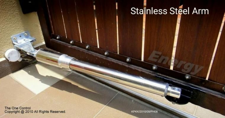 stainless steel arm