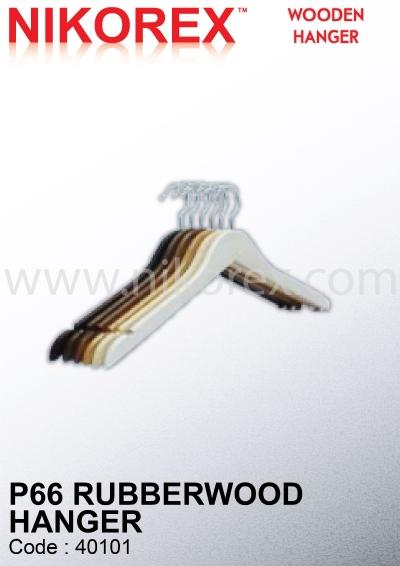 501005 / 501006 / 501007 - Wood Hanger P66 (10pcs)