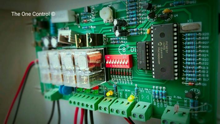 Control Panel (PCB)