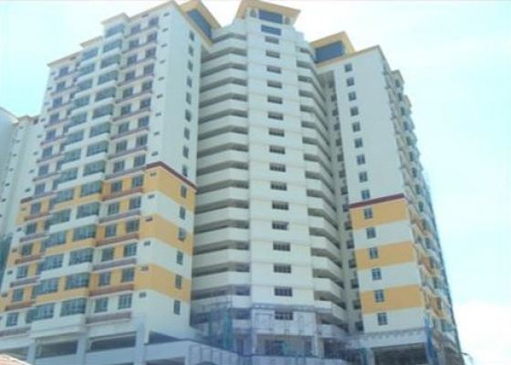 Apartment Servis Mewah