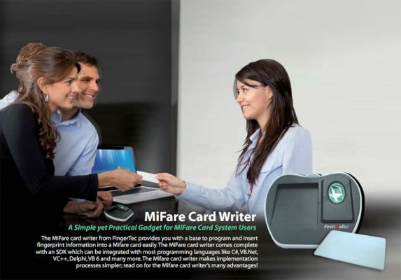 MiFare Card Writer