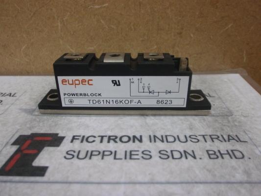 TD61N16KOF-A INFINEON Power Module Supply Malaysia Singapore Thailand Indonesia Philippines Vietnam Europe & USA