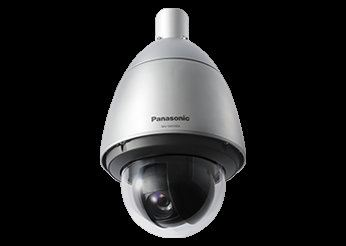 PANASONIC SUPER DYNAMIC WEATHER RESISTANT FULL HD PTZ DOME NETWORK CAMERA.WV-SW598A