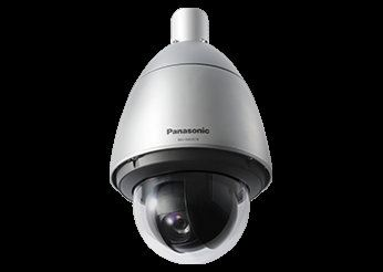 PANASONIC SUPER DYNAMIC WEATHER RESISTANT HD PTZ DOME NETWORK CAMERA.WV-SW397B