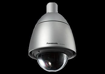 PANASONIC SUPER DYNAMIC WEATHER RESISTANT HD PTZ DOME NETWORK CAMERA.WV-SW395A