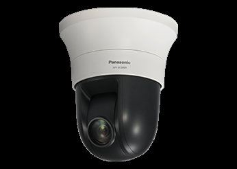 PANASONIC SUPER DYNAMIC WEATHER FULL HD PTZ DOME NETWORK CAMERA.WV-SC588A