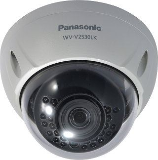 PANASONIC FULL HD WEATHERPROOF DOME NETWORK CAMERA.WV-V2530LK