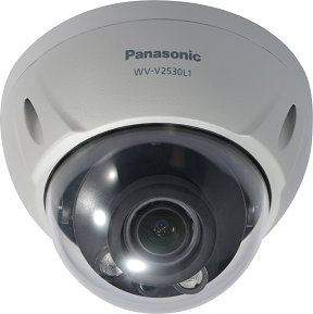 PANASONIC FULL HD WEATHERPROOF DOME NETWORK CAMERA.WV-V2530L1