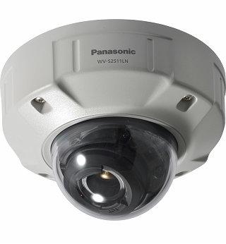 PANASONIC SUPER DYNAMIC HD VANDAL RESISTANT & WATERPROOF DOME NETWORK CAMERA.WV-SC2511LN