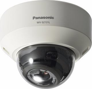 PANASONIC SUPER DYNAMIC FULL HD DOME NETWORK CAMERA.WVS2131L