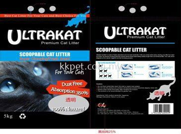 ULTRAKAT PREMIUM CAT LITTER 5 KGS