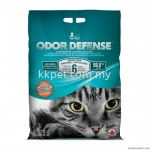 CAT LOVE ODOR DEFENSE UNSCENTED PREMIUM CLUMPING CAT LITTER - 12 KG