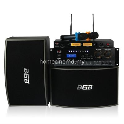 10 inch BGB Karaoke System with Wireless Microphone