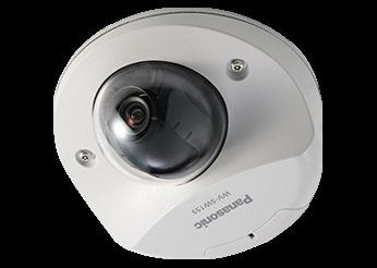 PANASONIC SUPER DYNAMIC HD VANDAL RESISTANT FIXED NETWORK CAMERA.WV-SW155