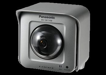 PANASONIC OUTDOOR WIRELESS PANTING-TILTING HD NETWORK CAMERA.WV-SW174W