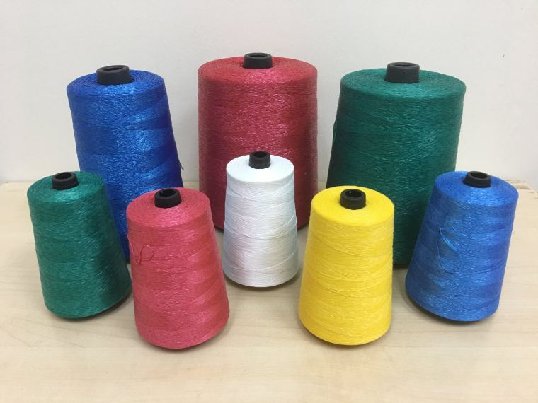 100% Polypropylene Yarn (PP Split Yarn) Bag Closing Thread Nanmu Yarns and Threads