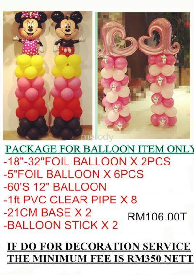 Balloon Package for pickup only