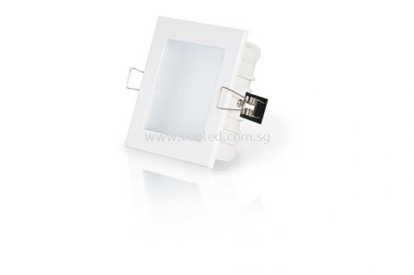 12W Recessed Downlight Square