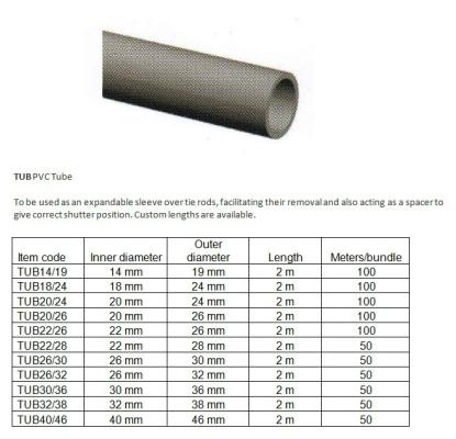 TUB PVC Tube