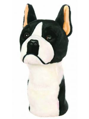 DAPHNE S HEADCOVER - BOSTON TERRIER