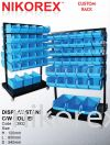 23932-120HX800LX540D (MM) DISPLAY STAND C/W ROLLER Basket Stand CUSTOM MADE