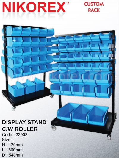 23932-120HX800LX540D (MM) DISPLAY STAND C/W ROLLER