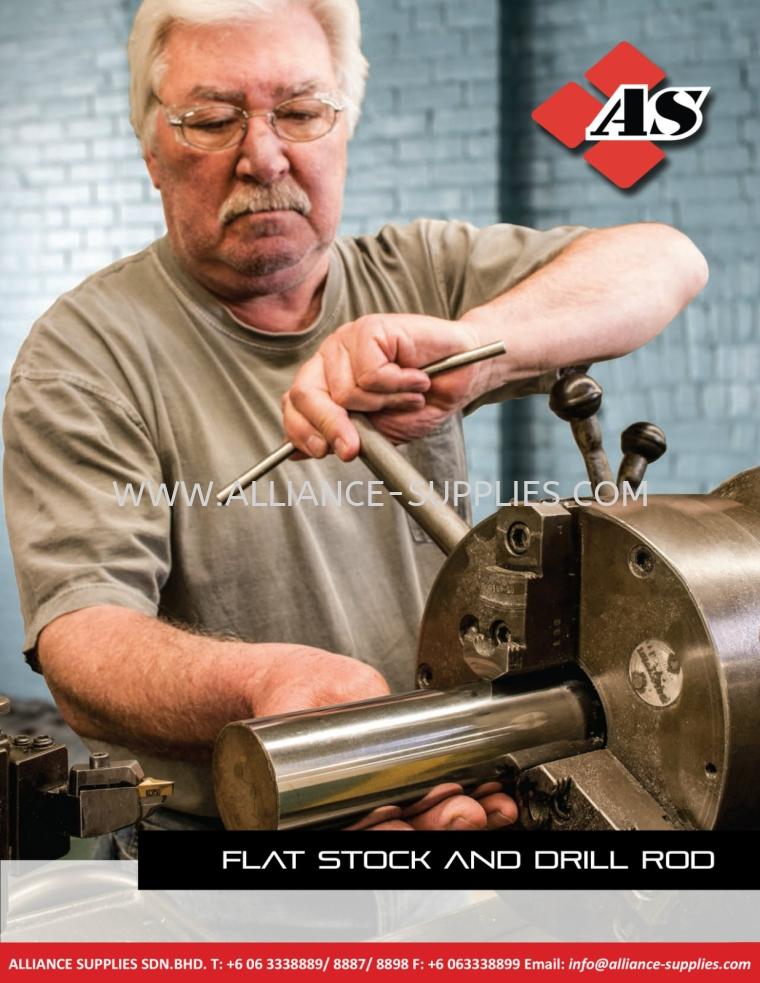 5.24 STARRETT Precision Ground Flat Stock and Drill Rod 5.24 Precision Ground Flat Stock and Drill Rod 05.STARRETT