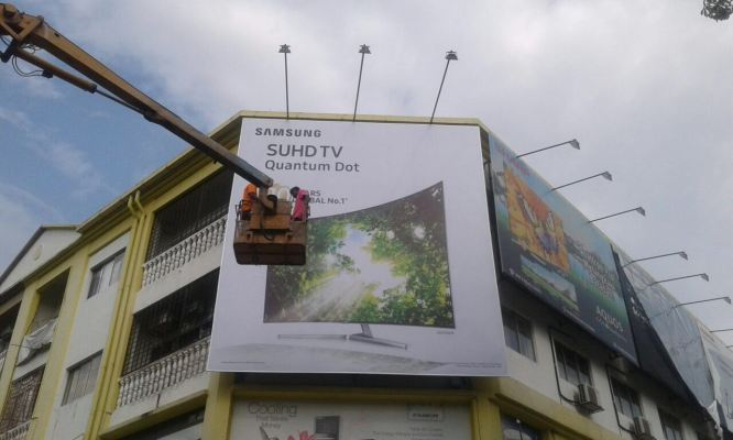 'Samsung' Billboard