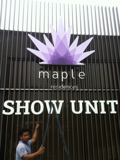 KSL Maple Show Unit At Klang