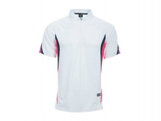 DFZ 04/04 WHITE/ MAGENTA Material: DRY FIT