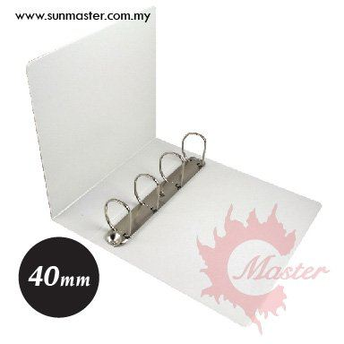 4D 40mm PVC Ring File