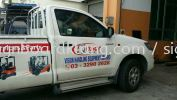 Vision Handing Equipment Sdn Bhd truck 4X4 sticker at klang utama TRUCK 4x4 STICKER