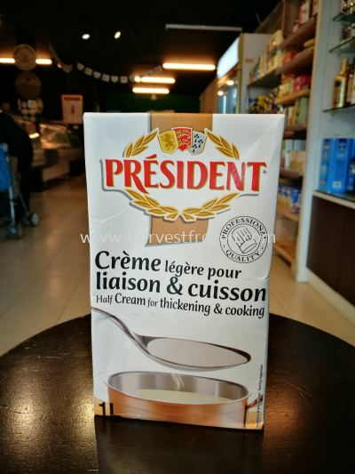 President Cooking Cream 18% fat 1Litre