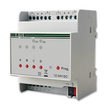 LED Dimming Actuator (ADLD-04/03.1)