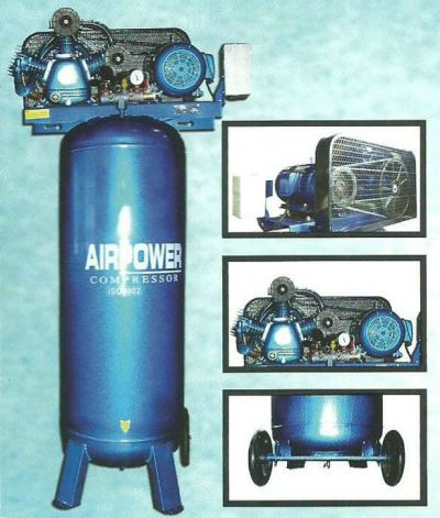 AIRPOWER COMPRESSOR 5HP Vertical