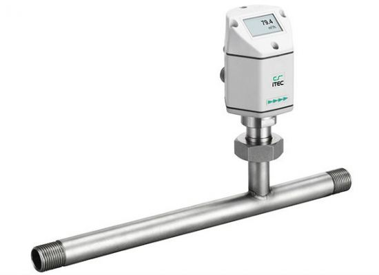 Flow / consumption sensor  Inline type