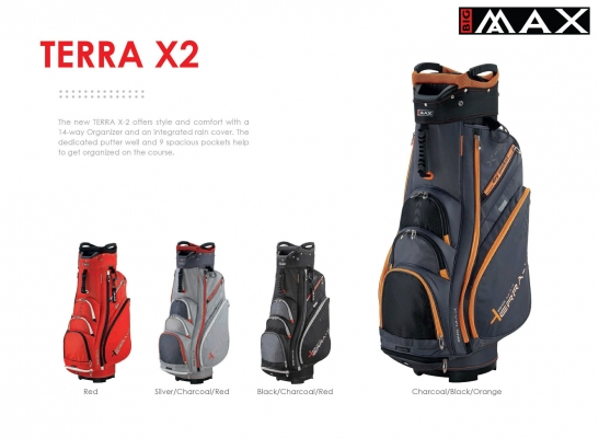 Big Max Terra X2 Cart Golf Bag