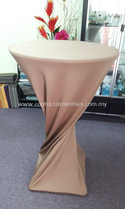 Cocktail Table Cloth (Mocha)