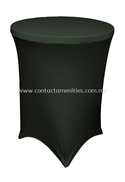 Cocktail Table Cloth (Black)