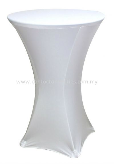 Cocktail Table Cloth (White)