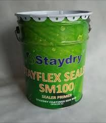 staydry sealer sm 100 (1st layer coat)