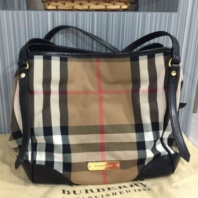 (SOLD) Burberry Shoulder Tote