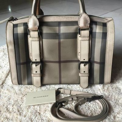 (SOLD) Burberry Smoked Check with Strap