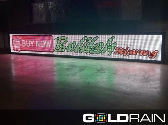 Full Color LED Signbrond Sample In Johor Bahru