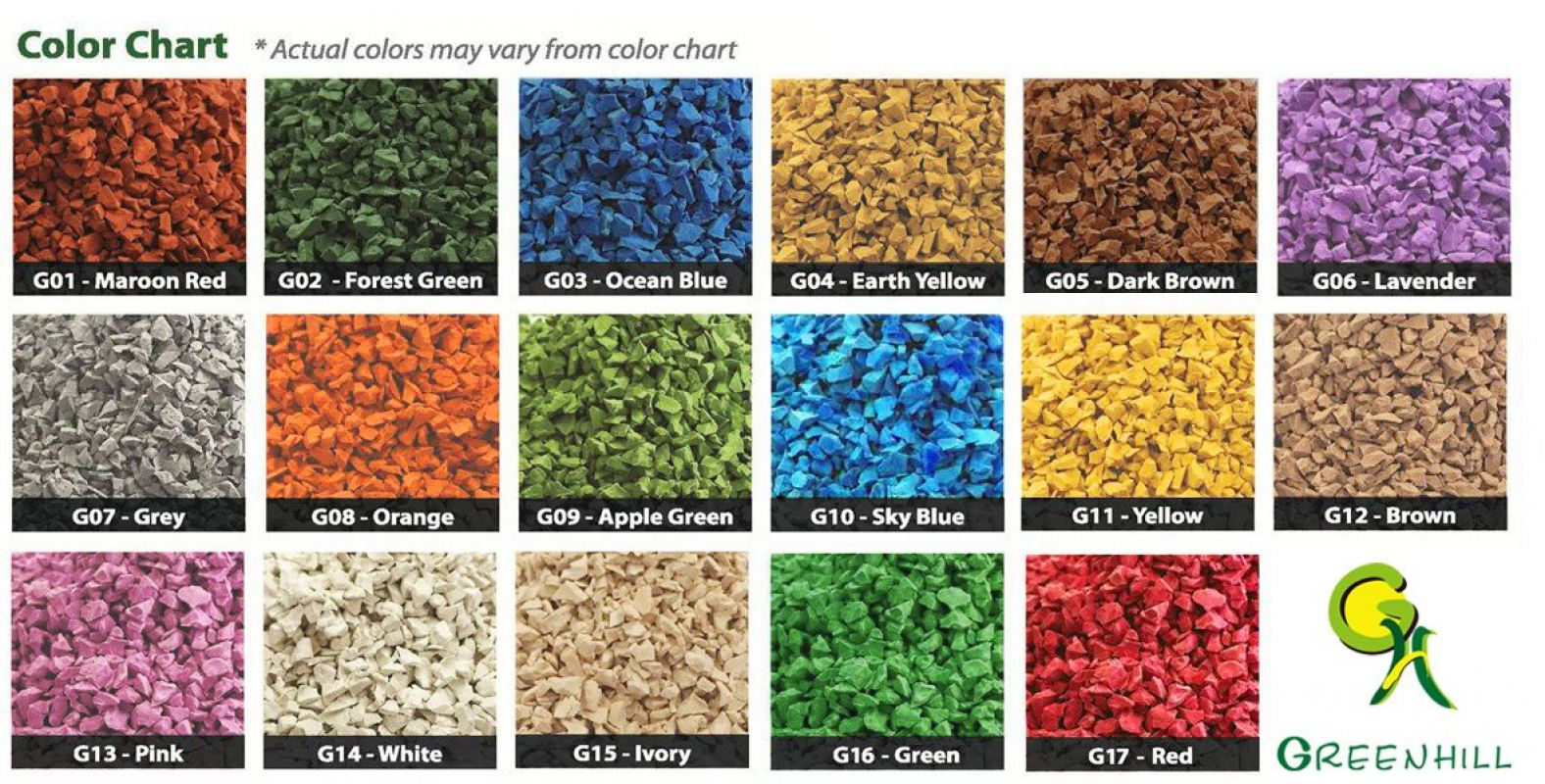 EPDM Granules EPDM Granules Ipoh, Perak, Malaysia. Manufacturer, Supplier, Supplies, Supply | Greenhill Marketing & Solution Sdn Bhd