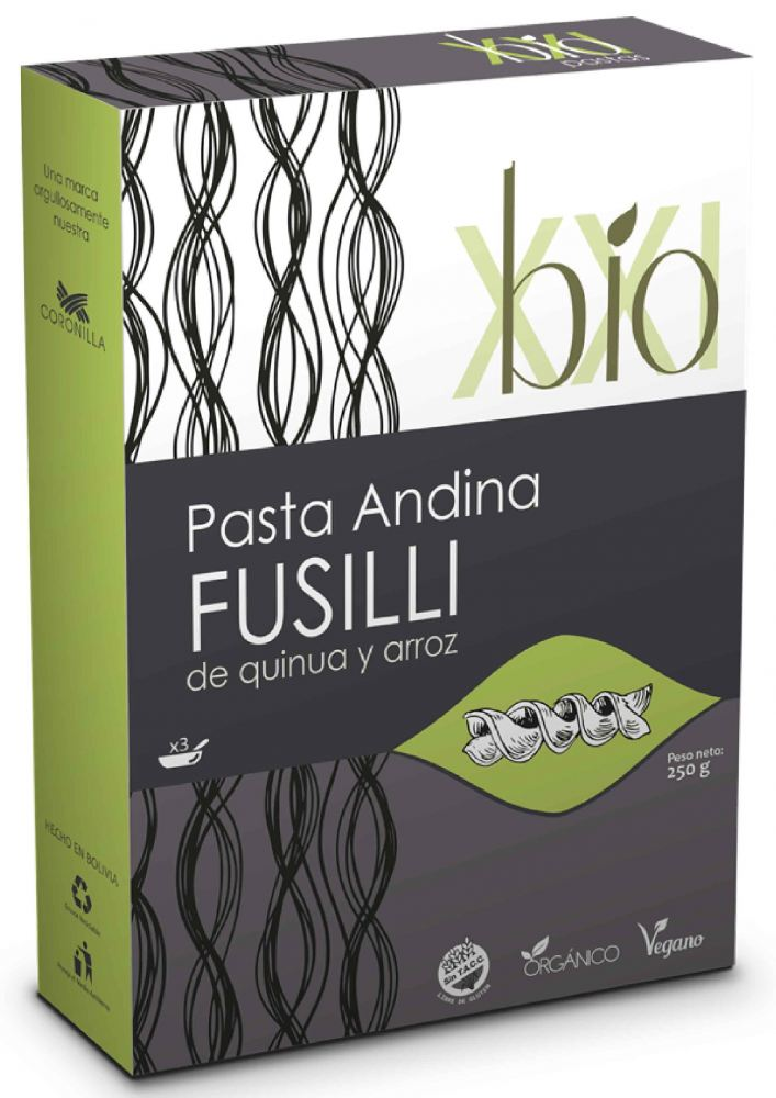 Rice and Quinoa Pasta ANDEAN FUSILLI