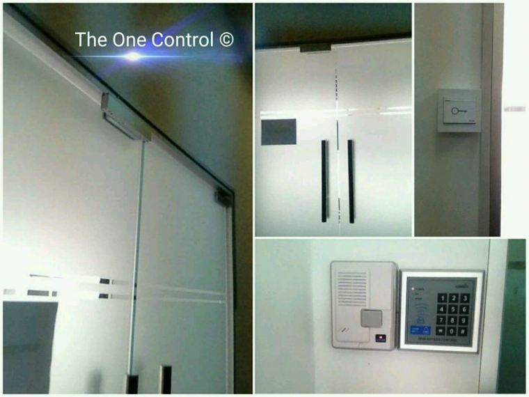 Door Acces (card/pin) with intercom . Puchong